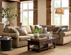 Decorating Ideas For Living Room | Pottery Barn