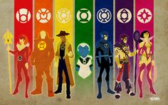 I know peoples!! :D  New Guardians Lantern Corps by Kid-Liger.deviantart.com on @deviantART