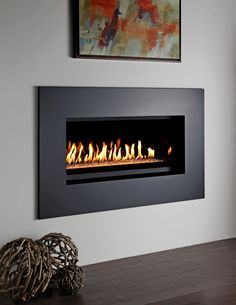 gas fireplace -- comes in extreme horizontal as well