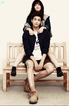 Nam Ji Hyun Gets Some Park Hyung Sik Oppa Affection in New Couples Pictorial Posted on October 2014 by ockoala Korean Wave, Korean Star, Nam Ji Hyun Actress, Korean Actresses, Actors & Actresses, My Sweet Valentine, Do Bong Soon, Park Hyung Sik, Seo Joon