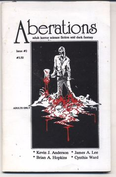 Aberations Issue #2  Adult Horror, Science Fiction and Dark Fantasy 1992