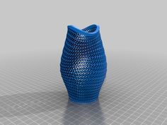 Fish Mouth Vase (open wall) by Zebra404.