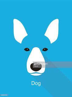 View top quality illustrations of Dog Face Flat Icon Design Vector Illustration. Find premium, high-resolution illustrative art at Getty Images. Flat Design Icons, Icon Design, All Animals Images, Animal Body Parts, Animal Heads, Free Illustrations, Free Vector Art, Photo Illustration, Royalty Free Images