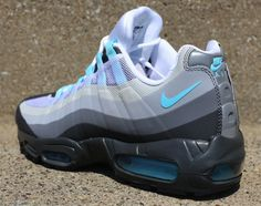 bbf0a5674518 Nike Air Max 95 No-Sew - Anthracite Tide Pool Blue-Cool Grey