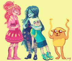 Adventure Time by Junuy
