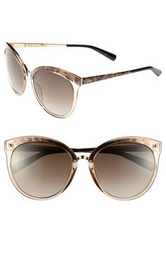 Dior 'Frozen' Sunglasses available at #Nordstrom