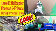 Harold's Helicopter Adventure - Thomas and Friends World's Strongest Team