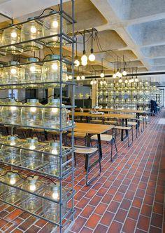 [인테리어]SHH lead all-star cast in design of Barbican Foodhall and Lounge : 네이버 블로그