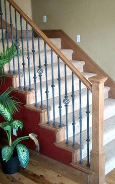 1000+ images about Staircase on Pinterest | Wrought iron ...