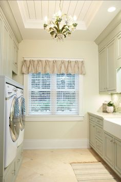 LAUNDRY ROOM – Another great design idea for a well-functioning laundry room.