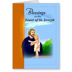 Feast of St. Joseph Blessings Card