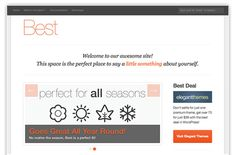 Best Responsive WP Theme Top Free Wordpress Themes, Something About You, Cool Themes