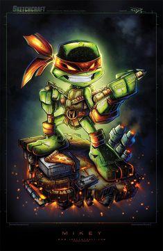 Michelangelo - Teenage Mutant Ninja Turtles #tmnt