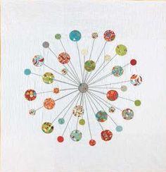 Quilt by Casey York using Jenn Ski fabrics