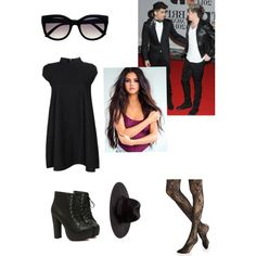 Niall's date to the Brit Awards by phoebeav on Polyvore featuring polyvore, fashion, style, Boohoo and Express