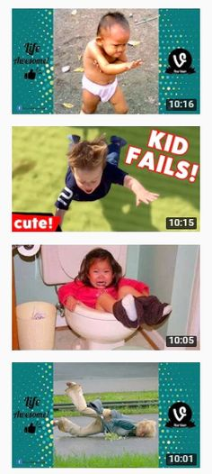 Fail Compilation January 2017.... Funniest KID & BABY VINES....This are some of  the videos which has/may uses the others copyright images, video clips, contents and make money for themselves. They completely break the copyright law by using the term 'fair use'.Find out the videos in our Youtube channel and know how they break the copyright laws.Also can watch the videos, like, comment, and subscribe our channel..... Visit.