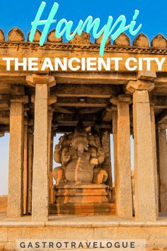 Hampi is a small town in Karnataka, India. When I was researching it I found not much material available, hence this Hampi travel guide Best Places To Travel, New Travel, Ultimate Travel, Asia Travel, Cool Places To Visit, Travel Plan, Group Travel, Hampi, Mysore