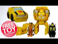 Toy Give Away! - Bumblebee Bird Blast Angry Birds Transformers - Grimloc...