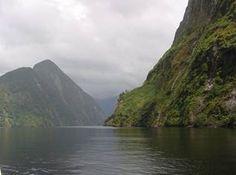 New Zealand mountains.