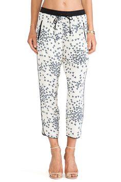 harlyn Drawstring Trouser in Confetti Print