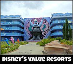 Walt Disney World Value Resorts