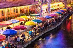 San Antonio River Walk - Casa Rio Restaraunt by Matt Pasant, via Flickr