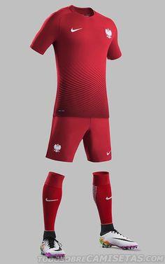 Poland Nike EURO 2016 Kits Soccer Kits 1fc49af3b