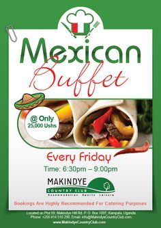 Makindye Country Club Mexican Buffet