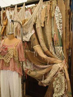"""Кружева, шитье, вязание и прочие изысканные """"мелочи"""" - я постаралась собрать из в одном месте. Еще одна грань БОХО."""