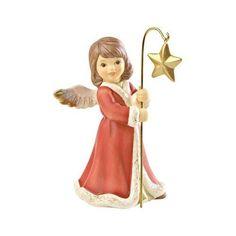 Goebel Weihnachtsengelmarkt Mein leuchtender Stern 10,5 cm