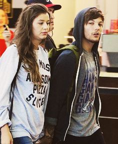 Eleanor Calder And Louis Tomlinson One Direction Girlfriends, The Girlfriends, Louis And Eleanor, Eleanor Calder, Louis Tomlinson, Role Models, Addiction, Couples, Heart