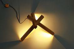 Madera LED lámpara de escritorio iluminación LED por industlamp