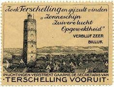 De Brandaris Terschelling retro...