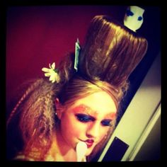 Alice in wonderland, mad-hatter  Hair and make-up by Jessica Brown!