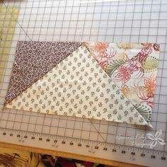Giant Flying Geese Using Layer Cakes | Quilting Pattern | Jen Eskridge…