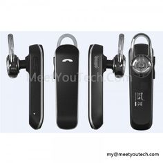 leather bluetooth headset earphone CSR 3.0 X3S | MeetYou Technology