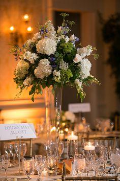 Flowers: Tre Bella / Photography: Walters & Walters/ Reception: Washington Duke Inn / Ceremony: Duke Chapel / Planning: Sally Oakley