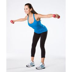 Upper body: Reverse fly: Get a gorgeous body your way with these fresh moves based on the new Total-Body Toning DVD from trainer Lashaun Dale.