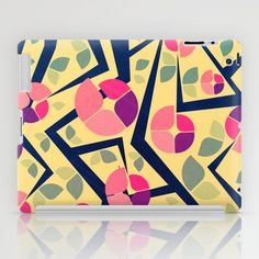 Blooming Trees Pattern iPad Case by VessDSign - $60.00