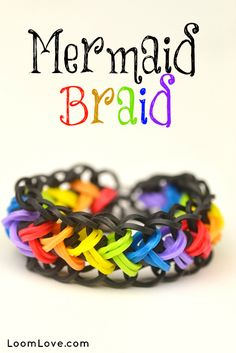 How to Make a Rainbow Loom Mermaid Braid