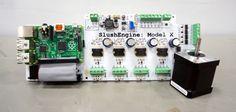 SlushEngine Stepper Motor Controller For Raspberry Pi