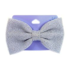 Claires Oversized Glitter Bow      Starting bid:$3.00