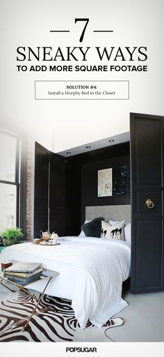 How to make the most out of the square footage you already have!