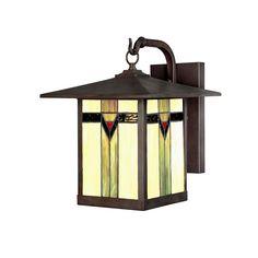 allen + roth Vistora 14-1/2-in Bronze Outdoor Wall Light; Lowes $130
