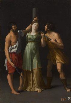 Martirio de Santa Apolonia -  Guido Reni - 1600 - 1603 -Colección - Museo Nacional del Prado