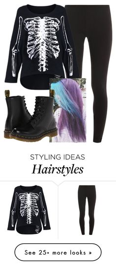 """Untitled #7325"" by carmellahowyoudoin on Polyvore featuring Splendid, Dr. Martens, women's clothing, women's fashion, women, female, woman, misses and juniors"