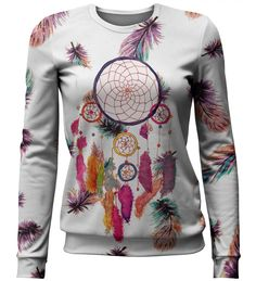 Feathers dreamcatcher sweater, Mr. GUGU & Miss GO