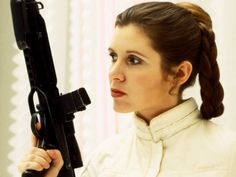 Princess Leia (Star Wars)! Which Iconic Character Were You Born To Play?  Hey, I love Star Wars. Works for me!
