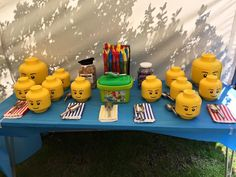 My wedding sweet buffet :) Lego theme