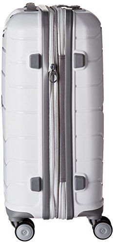 Amazon.com | Samsonite Freeform Hardside Spinner 21, White | Suitcases